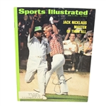 Jack Nicklaus Signed April 17, 1972 Sports Illustrated Magazine JSA #P36687 - Jack Wins 4th Masters