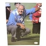 Arnold Palmer Signed Arnie at 60 Magazine Page JSA #P36779