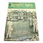 May 5, 1934 The Literary Digest Magazine - St. Andrews Cover
