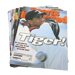 Tiger Woods Cover Sports Illustrated Magazines - 11 Assorted