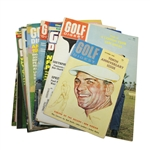 Assorted Golf Digest Magazines - 9 Total