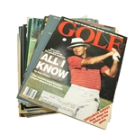 Assorted Golf Magazines - 27 Total - Time, PGA, Golf Illustrated, Etc