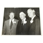 Ben Hogans Personal Photo with Arnold Palmer & Jack Nicklaus
