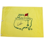 Arnold Palmer Signed 2004 Masters Embroidered Flag JSA ALOA