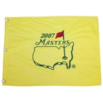 2007 Masters Embroidered Flag - Zach Johnson Winner