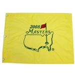 2008 Masters Embroidered Flag - Trevor Immelman Winner