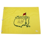 Ray Floyd Signed Masters Undated Embroidered Flag with 76 Notation JSA #N52331