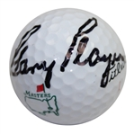 Gary Player Signed Masters Logo Golf Ball JSA ALOA