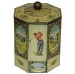 MacGregor The Greatest Name in Golf Golf Company Tin with Removable Lid