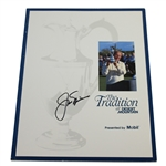 Jack Nicklaus Signed 1991 The Tradition at Desert Mountain Program JSA ALOA