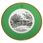 Augusta National Clubhouse Wedgwood Bone China Ltd Ed Plate #109 - Gifted to Bobby Jones Son Robert Tyre III