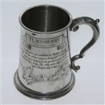 Turnberry The Ailsa Course Pewter Golf Tankard - Made in England