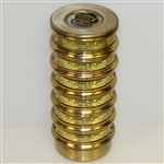 US Standard Sieve Series 8-10-12-14-16 Brass Dual Mfg Co. A.S.T.M. E-11 Specifications