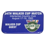 Deane Bemans 1993 Walker Cup at Interlachen Country Club Guest Badge