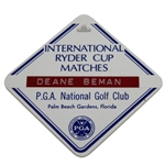 Deane Bemans 1983 Ryder Cup at PGA National Golf Club Bag Tag