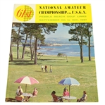 1961 US Amateur at Pebble Beach Program - Jack Nicklaus Winner - Deane Beman Collection