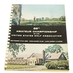 1956 US Amateur at Knollwood Club Official Program - Deane Beman Collection