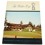 1961 The Walker Cup at The Seattle Golf Club Official Program - Deane Beman Collection