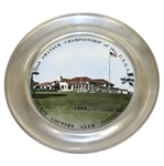 1962 US Amateur Championship at Pinehurst Country Club Plate - Deane Beman Collection