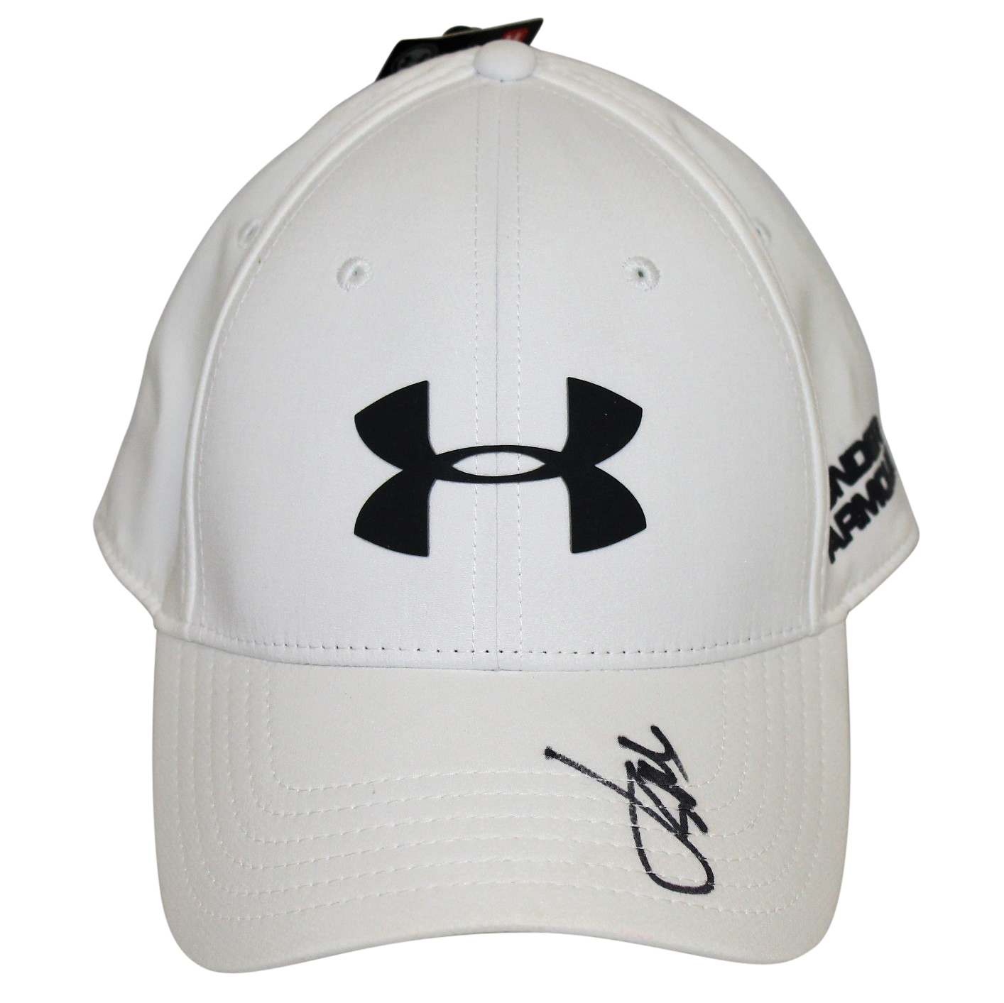 64bb97a12c3a Lot Detail - Jordan Spieth Signed White Under Armour Hat JSA  T83538