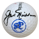 Jack Nicklaus Signed Dallas Athletic Club Golf Ball JSA ALOA