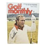 Arnold Palmer Signed June 1975 Golf Monthly Magazine JSA #Q49290