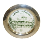 1946 Masters Tournament Contestant Plate - First Contestants Gift - Highly Collectible