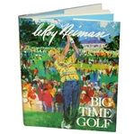 Leroy Neiman Signed Big Time Golf Book JSA ALOA