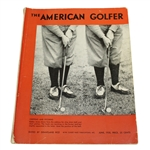 Bobby Jones on Cover June 1930 The American Golfer - Edited by Grantland Rice
