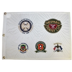 2006 Medinah Golf Club Major Tournaments Embroidered Flag- Limited Issue 500 Sold @ 06 PGA Championship