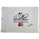 Arnold Palmer Signed Arnold Palmer Invitational Embroidered Flag PSA/DNA #Q05803