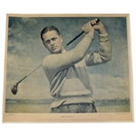 Bobby Jones Signed Ltd Ed Augusta National Member T. Stephens Print to Jack Westland (3x Walker Cupper)FULL JSA #Z69221