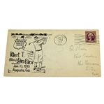 1933 Augusta National Golf Club Bobby Jones Course Opening FDC - Black