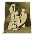 Babe Didrickson (Zaharias) Signed Original A.P. Wire Photo JSA ALOA
