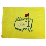 Jack Nicklaus Signed 1997 Masters Embroidered Flag - Scarce JSA ALOA