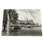 Oakmont Clubhouse Press Photo During 1935 US Open