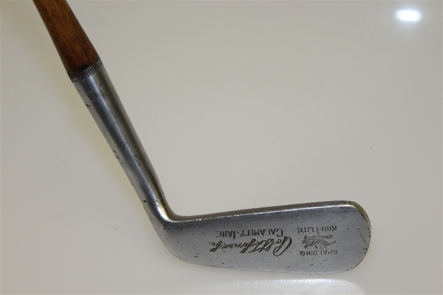 1931 Spalding Robert T. Jones Jr. Calamity Jane Kro-Flite Putter