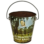 Classic Billy Casper Endorsed Practice Golf Balls Bucket - BC13 Style