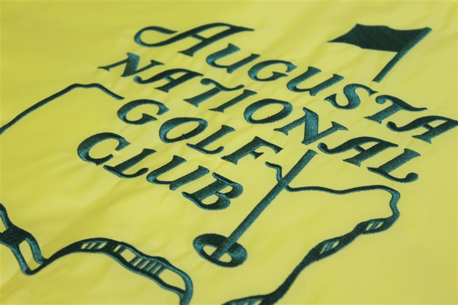 Augusta National Golf Club Member's Embroidered Flag
