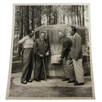 Morgan Fitz Original Photo - Jones, Roberts, Mangrum & Hogan at 15th Green Memorial Fountain