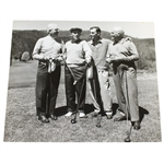 Ben Hogans Personal Photo with Golf Group Including Bing Crosby