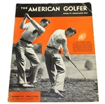 Ben Hogans Personal Copy of The American Golfer - November 1933