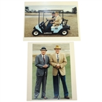 Ben Hogans Personal Photos of He and Byron Nelson - Later Years - Final Photos