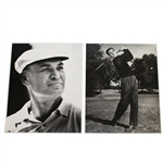 Ben Hogans Personal Photos - Older with Hat & Post Swing Pose