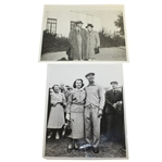 Ben Hogans Personal Photos - With His Mother & With His Wife