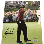Tiger Woods Signed Ltd Ed 2002 Masters Major Moments Photo 4/100 #BAJ25407