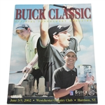 Sergio Garcia Signed 2002 Buick Classic Program - Early Career Victory JSA ALOA