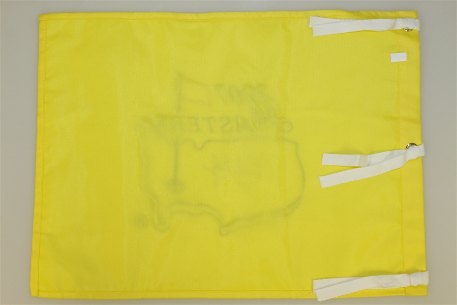 Charles Coody Signed 2007 Masters Embroidered Flag with '1971' Notation JSA ALOA
