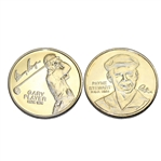 Payne Stewart & Gary Player Hall of Fame Commemorative Golf Coin Medals