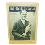 1927 Mid-Week Pictorial - Bobby Jones on Cover with Claret Jug